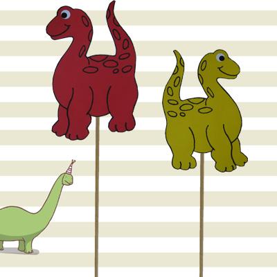 Dino prikker kindertraktaties van jarig jetje for Dino traktatie